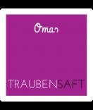 Omas Klebe-Etiketten fuchsia-pink 50 x 50 mm