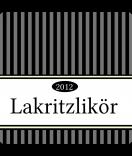 Klebe-Etiketten Vintage Stripes schwarz 50 x 50