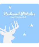 Klebe-Etiketten Hello Deer 50 x 50 mm
