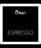 Omas Klebe-Etiketten schwarz 50 x 50 mm