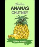Ananas Etiketten Farmers Market 55 x 85 mm