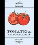 Vintage Etiketten Farmers Market 55 x 85 mm Tomate blau