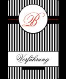 Klebe-Etiketten Candy stripes 55 x 85 mm schwarz