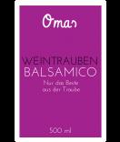Omas Klebe-Etiketten Balsamico 55 x 85 mm