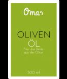 Omas Etiketten Olivenöl 55 x 85 mm