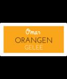 Omas Klebe-Etiketten orange 60 x 30 mm