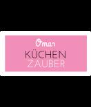 Omas Klebe-Etiketten rosa 60 x 30 mm