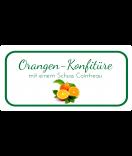 Etiketten für Einmachgläser Ilona's Finest Orange 60 x 30