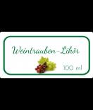 Etiketten für Einmachgläser Ilona's Finest Traube 60 x 30