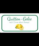 Etiketten für Einmachgläser Ilona's Finest Quitte 60 x 30