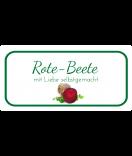 Etiketten für Einmachgläser Ilona's Finest Rote Beete 60 x 30