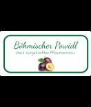 Etiketten für Einmachgläser Ilona's Finest Pflaume 60 x 30