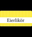 Klebe-Etiketten Vintage Stripes gelb 60 x 30 mm