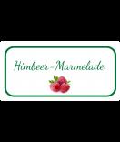 Etiketten für Einmachgläser oval Ilona's Finest Himbeer 60 x 30