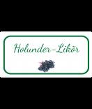 Etiketten für Einmachgläser Ilona's Finest Holunder 60 x 30