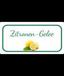 Etiketten für Einmachgläser Ilona's Finest Zitrone 60 x 30