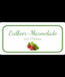 Etiketten für Einmachgläser Ilona's Finest Erdbeer 60 x 30