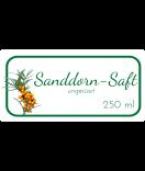 Etiketten für Einmachgläser Ilona's Finest Sanddorn 60 x 30