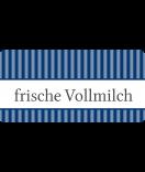 Klebe-Etiketten Vintage Stripes blau 60 x 30 mm