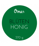 Omas Klebe-Etiketten rund Honig grün 60 mm