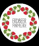 Klebe-Etiketten rund Sweet Fruits 60 mm weiß