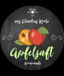 Apfel Etiketten Farmers Market Chalkboard 60 mm