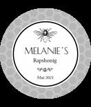 Honig Etiketten Apis 60 mm rund