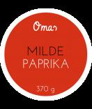Omas Klebe-Etiketten rund rot 60 mm
