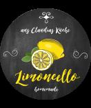 Zitronen Etiketten rund Farmers Market Chalkboard 60 mm