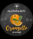 Apfelsinen Etiketten rund Farmers Market Chalkboard 60 mm