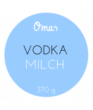 Omas Klebe-Etiketten rund hellblau 60 mm