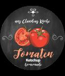 Tomaten Etiketten Farmers Market Chalkboard 60 mm