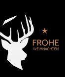 Klebe-Etiketten rund Hello Deer 60 mm