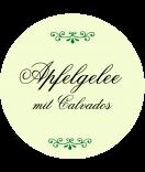 Klebe-Etiketten rund Classic Style grün 60 mm