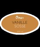 Omas Klebe-Etiketten oval natur 80 x 45 mm