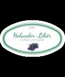 Etiketten für Einmachgläser oval Ilona's Finest Holunder 80 x 45