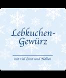 Klebe-Etiketten Snowflakes 95 x 90 mm blau
