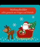 Etiketten Weihnachten Santa 95 x 90 mm