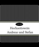 Klebe-Etiketten Vintage Stripes schwarz 95 x 90