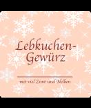 Klebe-Etiketten Snowflakes 95 x 90 mm lachsrosa