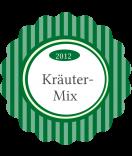 Klebe-Etiketten Vintage Stripes rund grün 44 mm