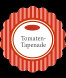 Klebe-Etiketten rund Vintage Stripes rot 44 mm