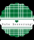 Klebe-Etiketten rund Country Living grün 44 mm