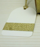 Masking Tape, Washi Tape gold Glitzertape 15 mm x 5 m