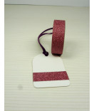 Masking Tape, Washi Tape Glitzertape rose 15 mm x 5 m
