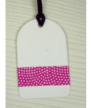 Masking Tape, Washi Tape Punkte pink 15 mm x 10 m