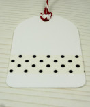 Masking Tape, Washi Tape Polka Dots schwarz 15 mm x 10 m