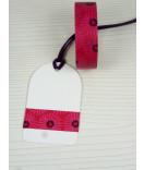 Masking Tape, Washi Tape Blumen rot-pink 15 mm x 10 m