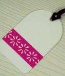 Masking Tape, Washi Tape Blumen Pink 15 mm x 10 m