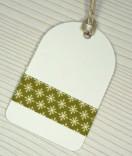 Masking Tape, Washi Tape Weihnachten Sterne klein Grün 15 mm x 10 m